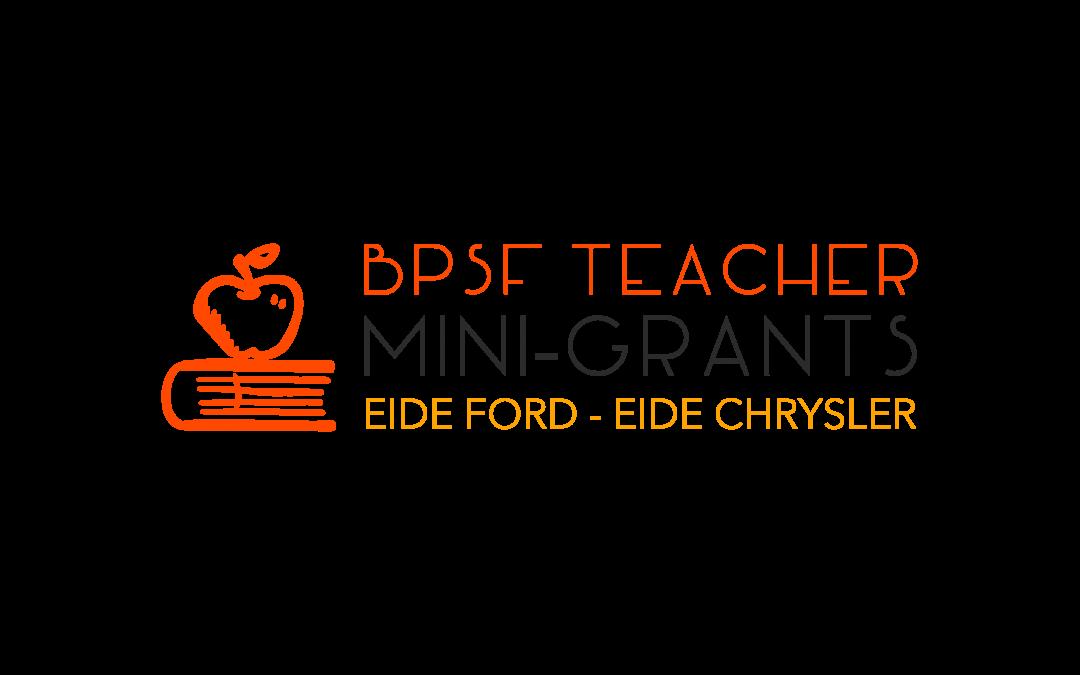 BPSF Teacher Mini-Grant Program