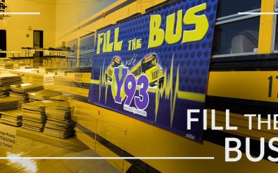 Annual Fill the Bus event Wednesday, August 18th to help students in need prepare for Back to School