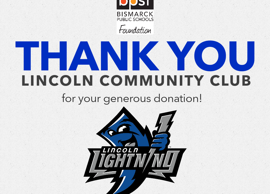 Lincoln Community Club Donates $40k to Lincoln Public School to enhance playground and provide supplies to students