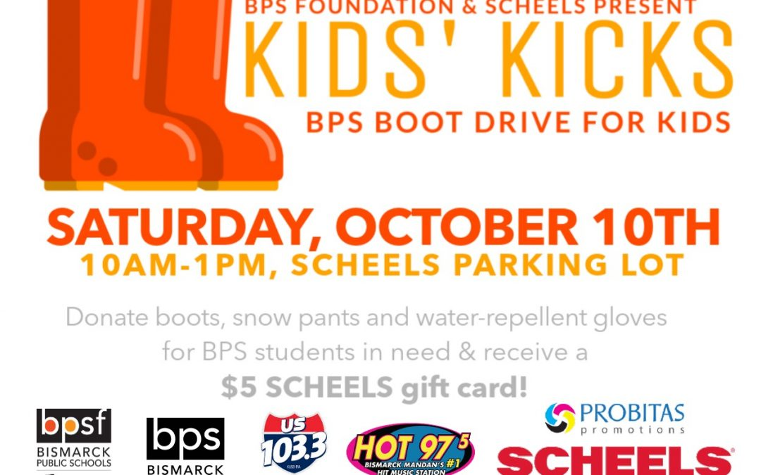 Kids' Kicks Event to help collect winter supplies for BPS students in need